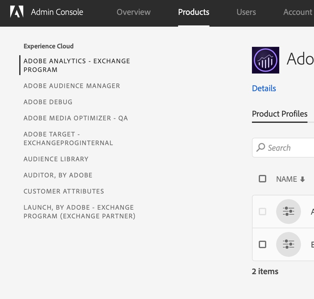 Adobe Analytics: Access Your Sandbox – Adobe Exchange Program